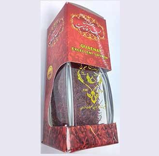 زعفران سرگل طرح آذین (نیم مثقالی) , پوشال