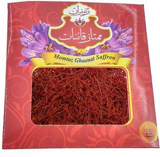 زعفران یک مثقالی نگین اعلا طرح پاکتی