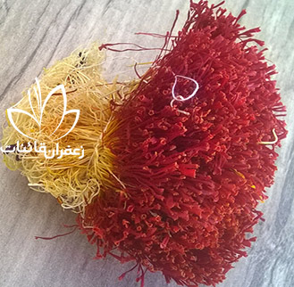زعفران دخترپیچ یا زعفران دسته یک مثقالی