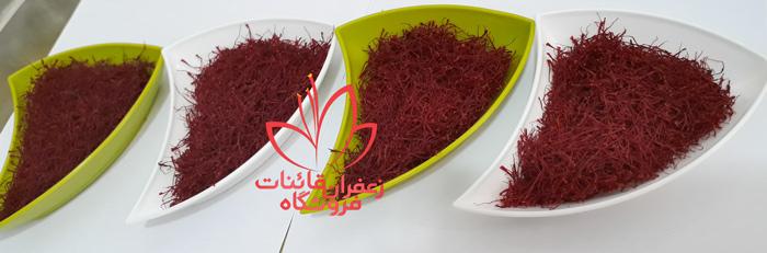 تفاوت انواع زعفران نگین در چیست انواع زعفران صادراتی