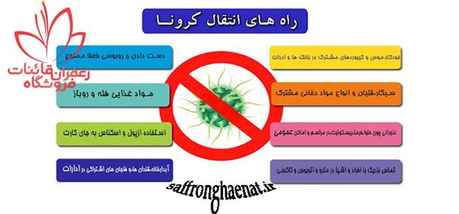 راه انتقال کرونا ویروس
